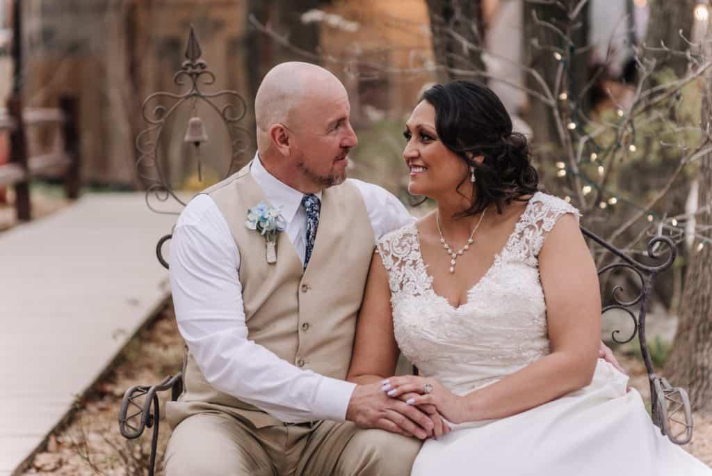 hidden porch catoosa, wedding, outdoor wedding, davids bridal, white dress, boutonniere,