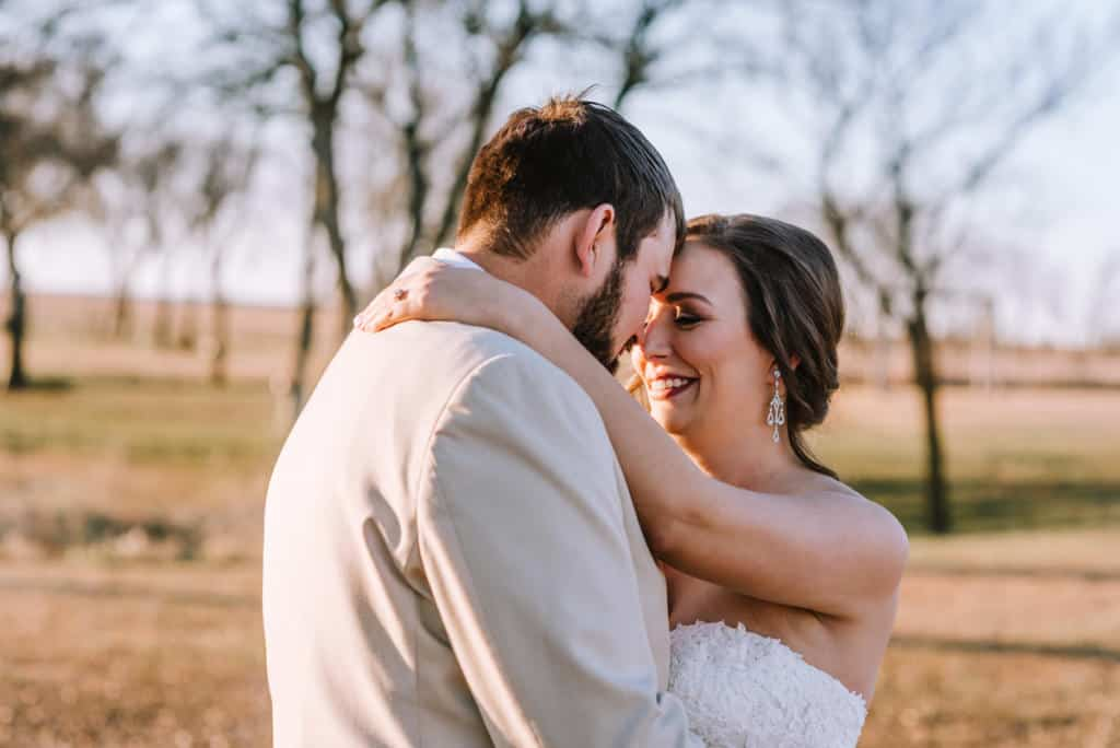 ricks place, coweta, oklahoma sunset, first looks, bridal portraits, tulsa wedding photographer