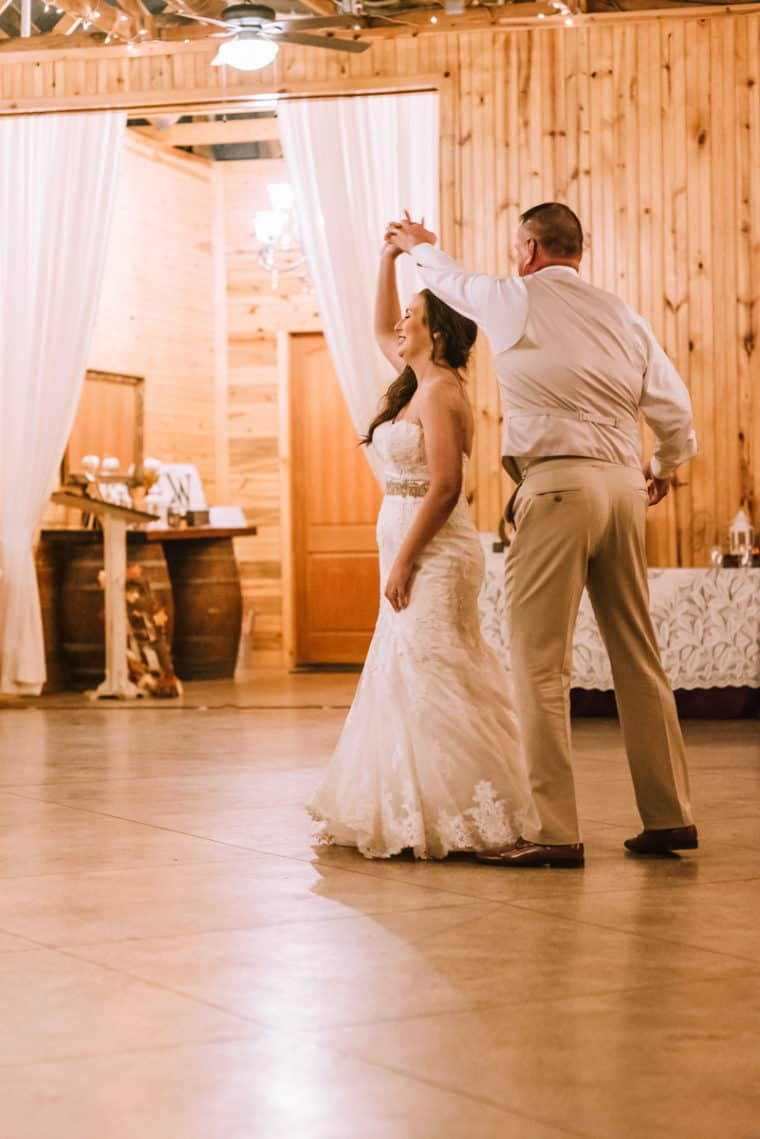 father-daughter dance, ricks place coweta